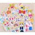 """Набор стикеров """"Sailor Moon"""" 32шт"""