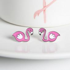 Серьги #Flamingo