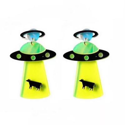 Серьги UFO