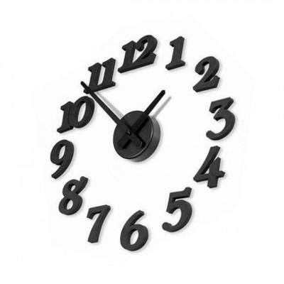 Настенные часы «Парящие Цифры» самоклеящиеся