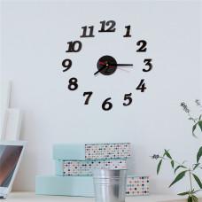 Настенные часы самоклеящиеся «Цифры»