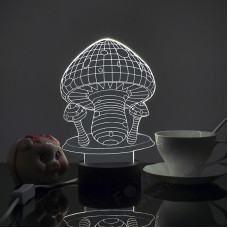 """3D светильник """"Грибы"""""""