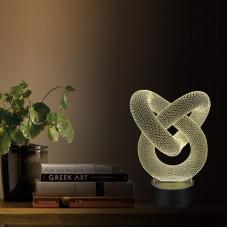 """3D светильник """"Спираль2"""" автономный"""