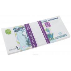 Блокнот Пачка 1000 рублей