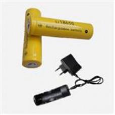 "Аккумуляторные батарейки ""Ultrafire"" 3000mAh 2шт + зарядное устройство"