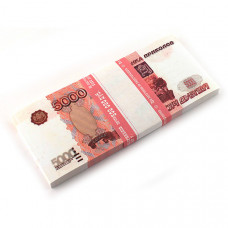 Блокнот Пачка 5000 рублей