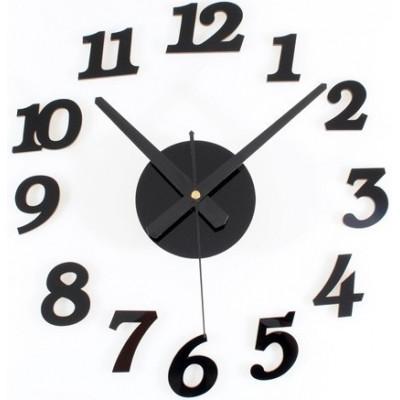 Настенные самоклеящиеся часы «Цифры»