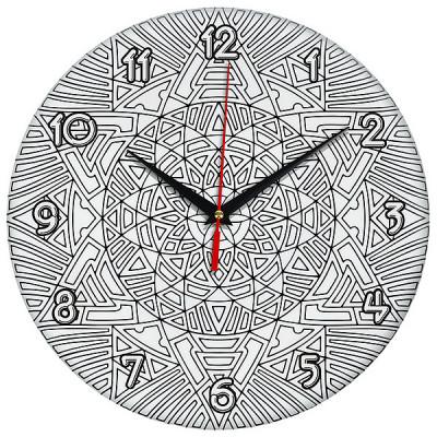 Настенные часы-раскраска Солнце