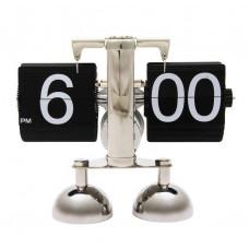 """Часы Перелистывающиеся """"Flip Clock Ретро Америка"""" на двух ножках"""