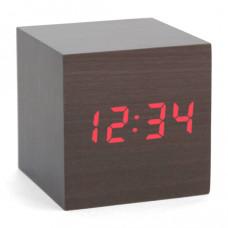 """Часы-будильник """"Деревянный Куб"""""""