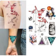 """Набор геометрических тату """"Far away"""""""