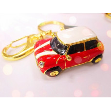 Флешка - брелок в виде автомобиля Mini Cooper