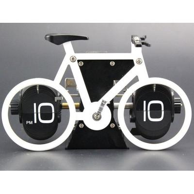 """Часы Перелистывающиеся """"Flip Clock Велосипед"""""""