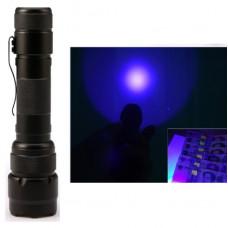 Фонарь ультрафиолетовый 3W UV LED