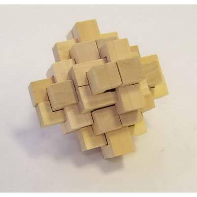 Головоломка деревянная в кор. Альфа
