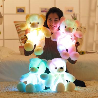 Светящийся плюшевый мишка Teddy XXL
