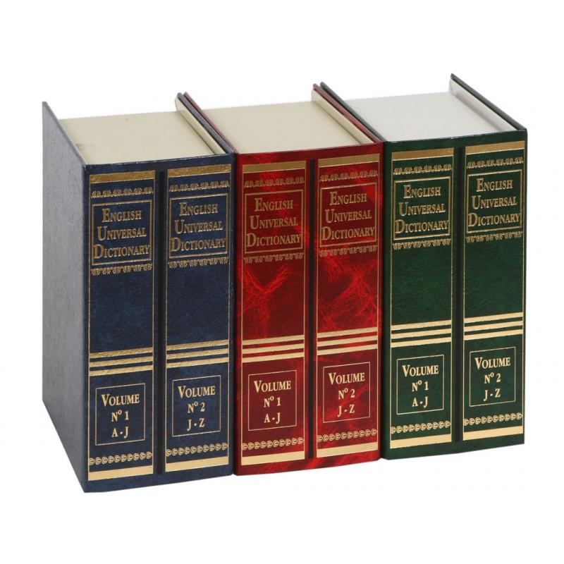 Книга-сейф, металл( Английский словарь гигант, красная) - 3