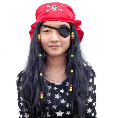 Парик пирата (шляпа, повязка, борода)