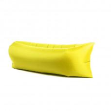 Надувной диван LAMZAC  (Ламзак) желтый