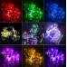 Светодиодная гирлянда на проволоке 2м мультицвет