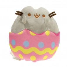 Подушка Кот Пушин (Pusheen the cat) Пасхальный кот в яйце 30см