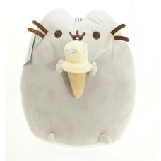 Подушка Кот Пушин (Pusheen the cat) с мороженым