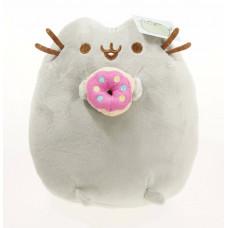Подушка Кот Пушин (Pusheen the cat) с пончиком