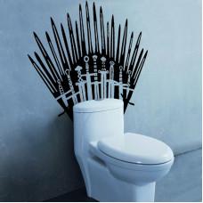 """Наклейка интерьерная """"Железный трон"""""""