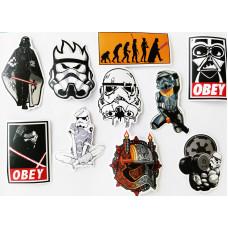 Набор стикеров Звездные Войны #7