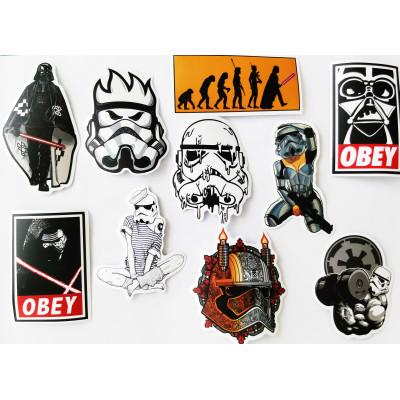 Набор стикеров Звездные Войны #7 10 шт