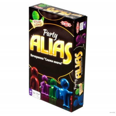 Компактная настольная игра: ALIAS: Party (Элиас Скажи иначе: Вечеринка-2)