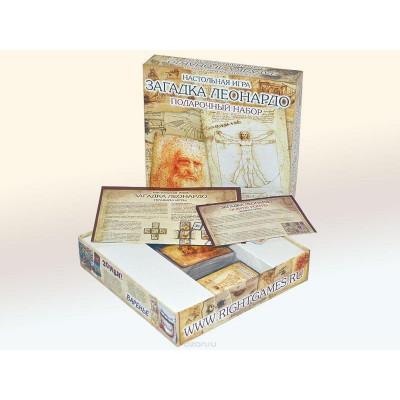 Настольная игра Загадка Леонардо. Подарочный набор