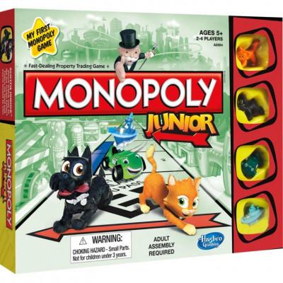 Настольная игра Моя первая Монополия (Monopoly Junior)