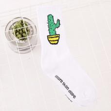 "Носки ""Cactus"" белые"
