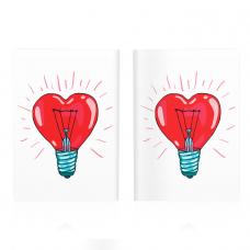 Обложка для паспорта «Heart»