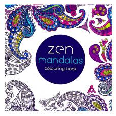 Раскраска антистресс Zen Mandalas