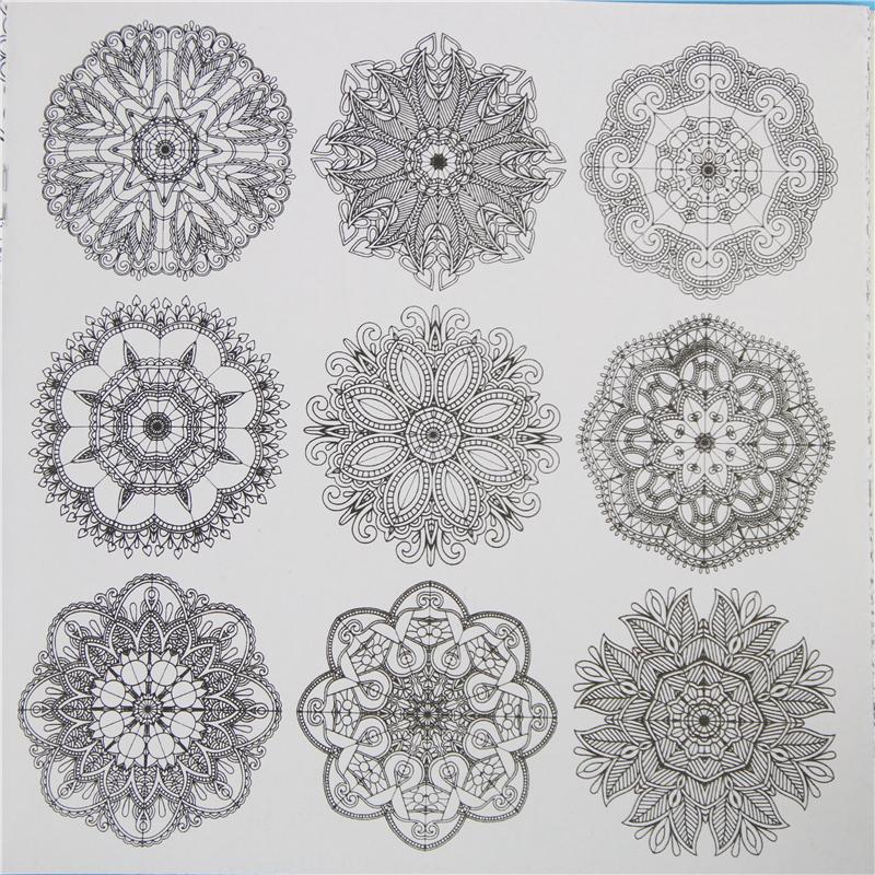 раскраска антистресс Zen Mandalas купить в москве в интернет