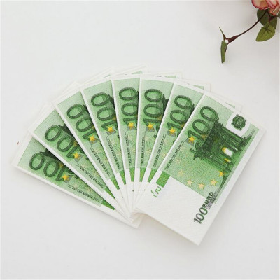 Салфетки Пачка 100 евро