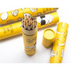 Набор карандашей Yellow fruit (Банан в очках)