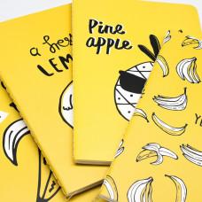 Скетчбук Yellow fruit (Банан в очках)