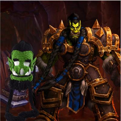 """Шапка """"Орк Warcraft"""""""