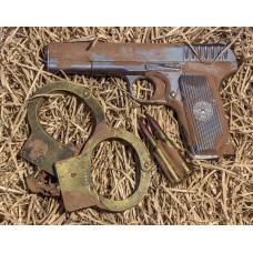 Шоколадный набор «Пистолет ТТ и наручники»