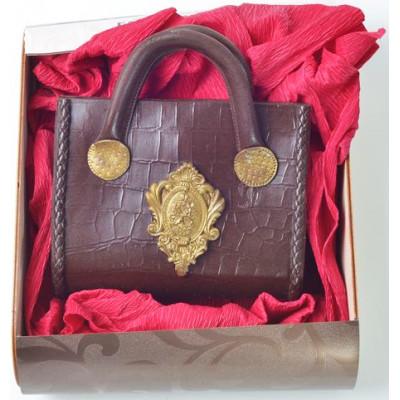 Шоколадная сумочка