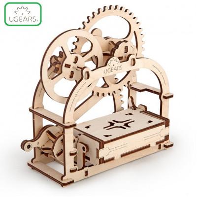 Конструктор Механический 3D-пазл UGears Шкатулка