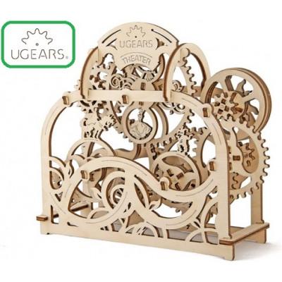 Конструктор Механический 3D-пазл UGears Театр