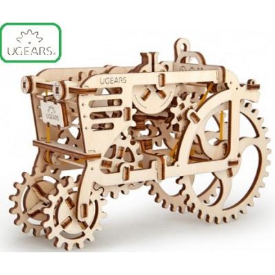 Конструктор Механический 3D-пазл UGears Трактор