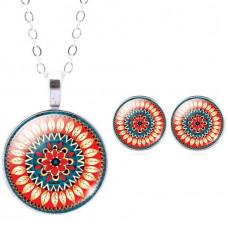 Комплект украшений Mandala
