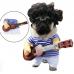 """Костюм для кошек и собак """"Бард"""" (Матроскин) с гитарой"""
