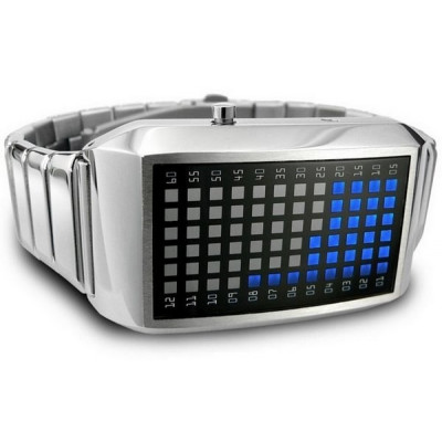 Наручные бинарные часы
