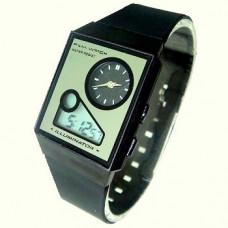 Часы наручные спортивные illuminator с двумя дисплеями